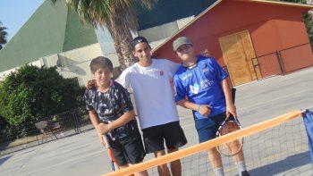Con Entusiasmo Avanza II Torneo de Tenis