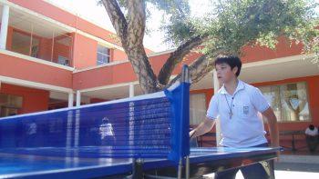 Reporte Participación Comunal e Interna de Tenis de Mesa