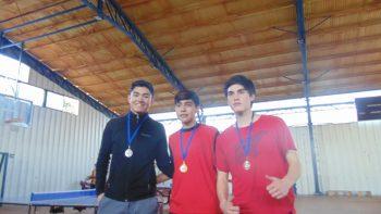 Participación Junio Tennis de Mesa