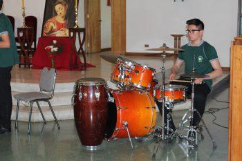 Exitosa fue la presentación de la banda sinfónica del colegio Eliseo Jorquera de Ovalle