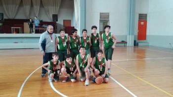 Alumnos de nuestro colegio participan en torneo de Mini básquetbol
