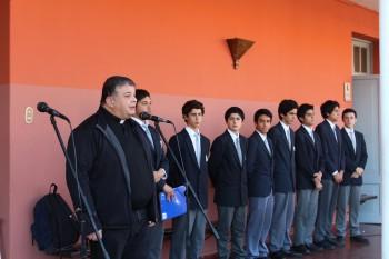 Asumió nuevo Centro de Alumnos del colegio El Salvador