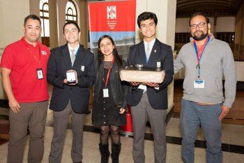 Ganadores premio Grete Mostny en la 49º Feria Científica Nacional Juvenil del MNHN