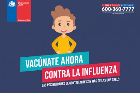 Informativo Vacunación Escolar 2020