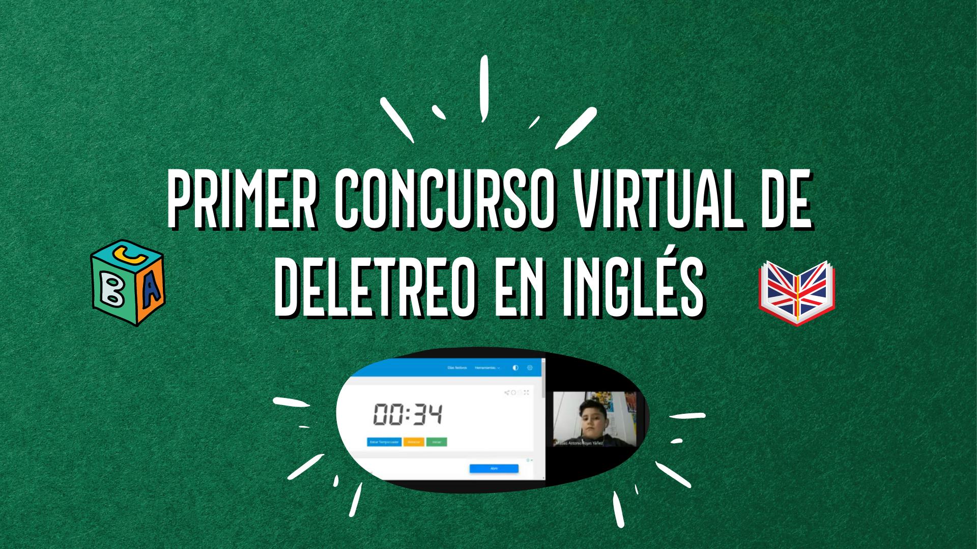 Colegio realiza primer Concurso Virtual de Deletreo en Inglés