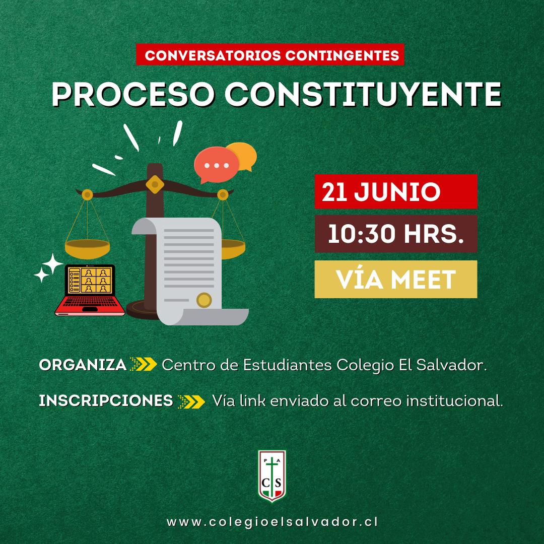 CEAL: CONVERSATORIO «PROCESO CONSTITUYENTE»