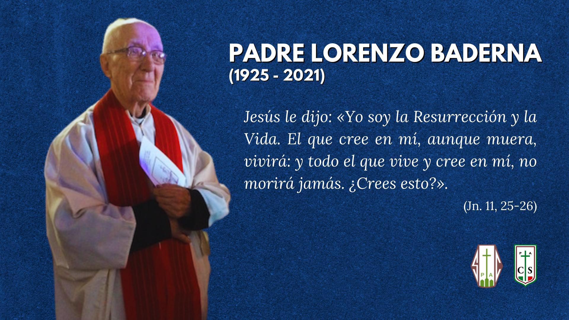 VELORIO Y FUNERAL P. LORENZO BADERNA