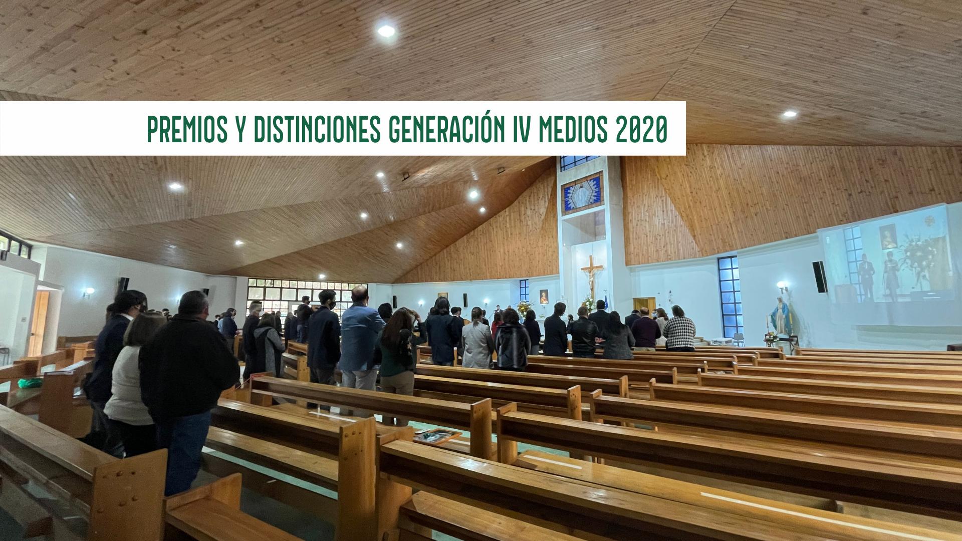 PREMIOS Y DISTINCIONES GENERACIÓN IV MEDIOS 2020